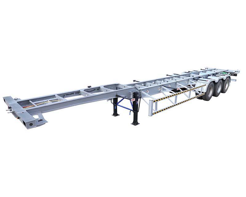 骨架式集装箱运输半挂车