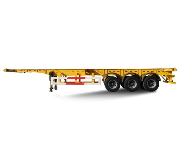 HTL9400TJZA集装箱运输半挂车