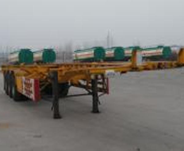 SGT9400TJZ型集装箱运输半挂车
