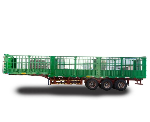 SGT9401CCY型仓栅式运输半挂车