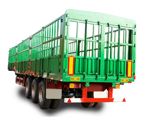 SGT9400CCY型仓栅式运输半挂车