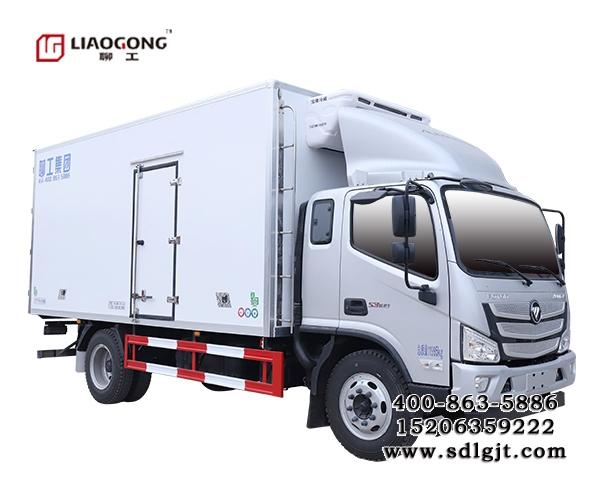 福田欧马可S3 5.2米冷藏车