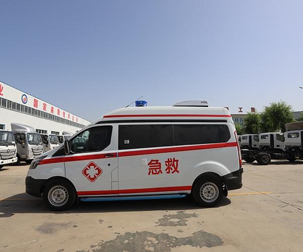 聊工集团福特急救车